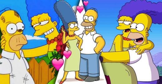 10 Momentos en los que Homero Simpson ha demostrado su amor por Marge