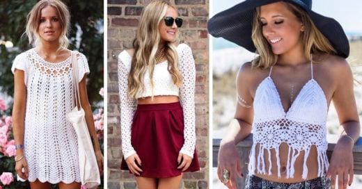 15 Originales ideas para crear tus propias prendas de crochet