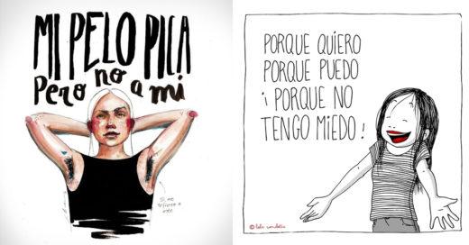 10 Ilustradoras feministas que buscan el empoderamiento femenino