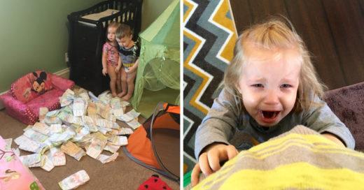 Estas fotos resumen a la perfección el significado de ser madre