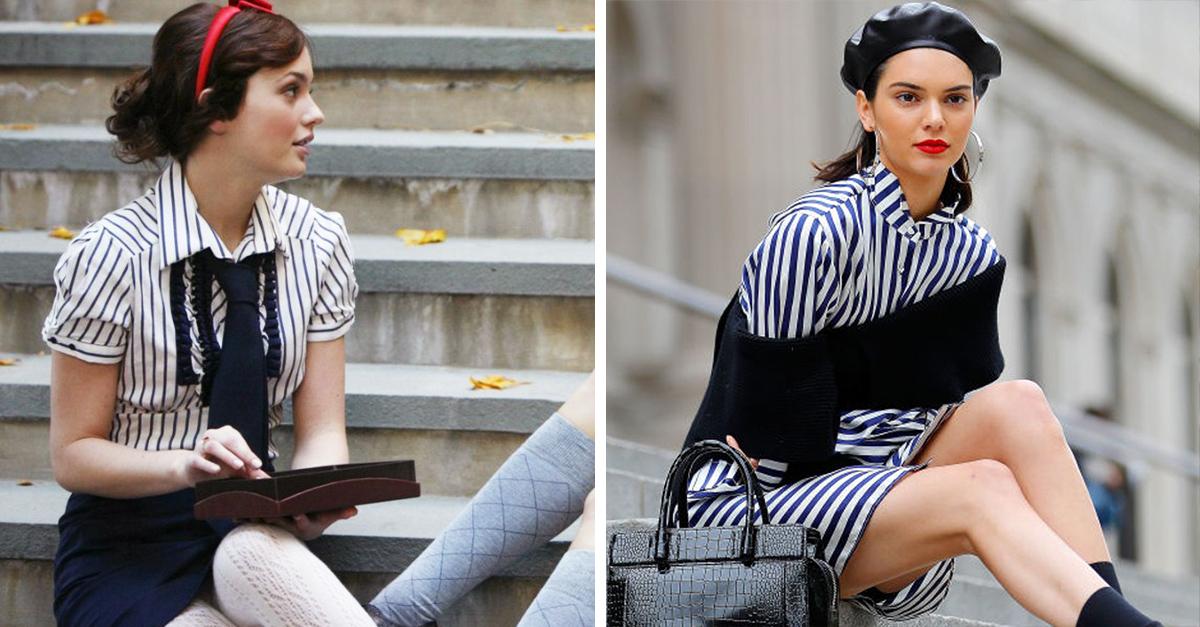 Kendall Jenner y Gigi Hadid le rinden un homenaje a Gossip girls