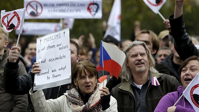 marchas xenofobia
