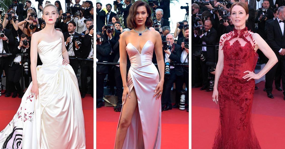 Las 15 Famosas mejor vestidas durante el Festival de Cannes 2017