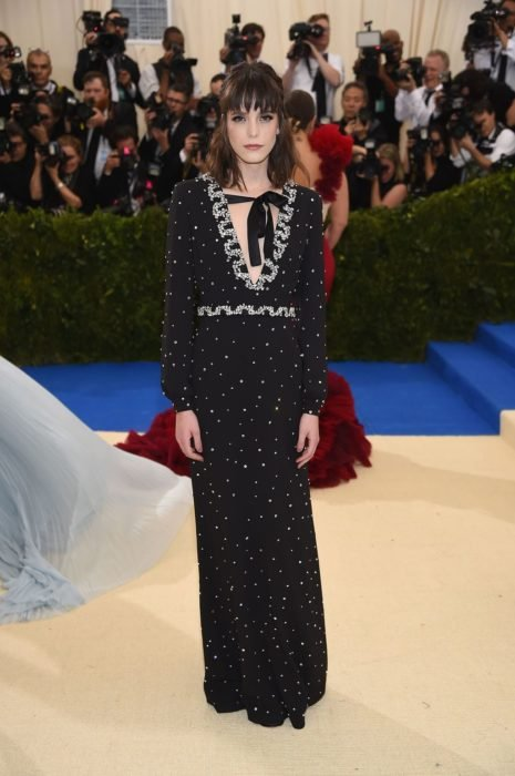 met gala 2017 stacy martin