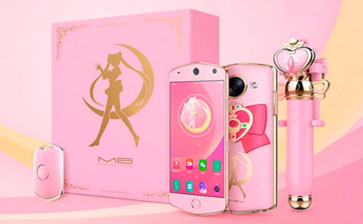 kit de smartphone rosa sailor moon