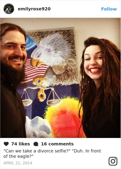 pareja captura de pantalla Instagram