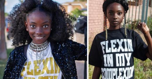 Ella era victima de acoso por su color de piel y ahora crea una línea de ropa para inspirar a los demás