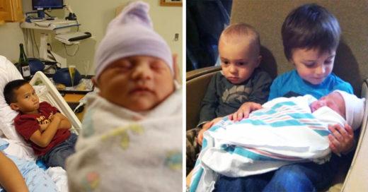 15 Niños que No se alegraron por su nuevo hermanito