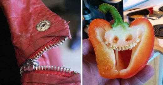 30 Graciosas imágenes de objetos con rostro