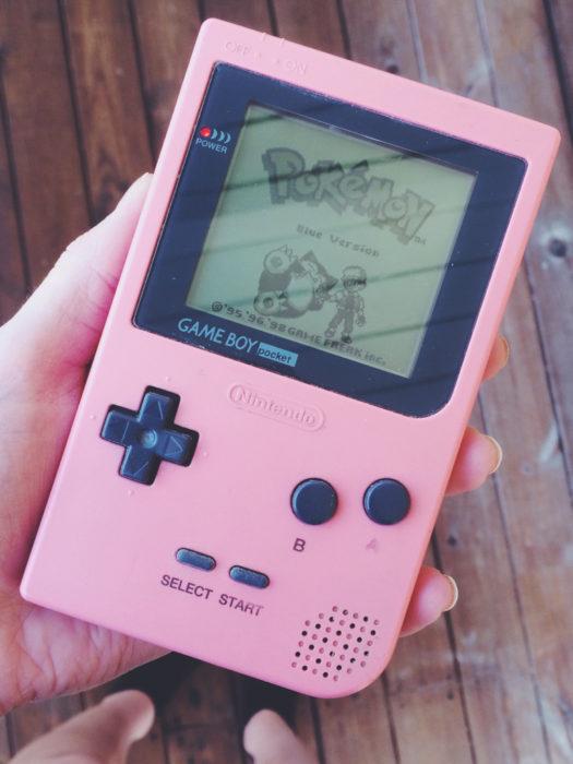 gameboy rosa