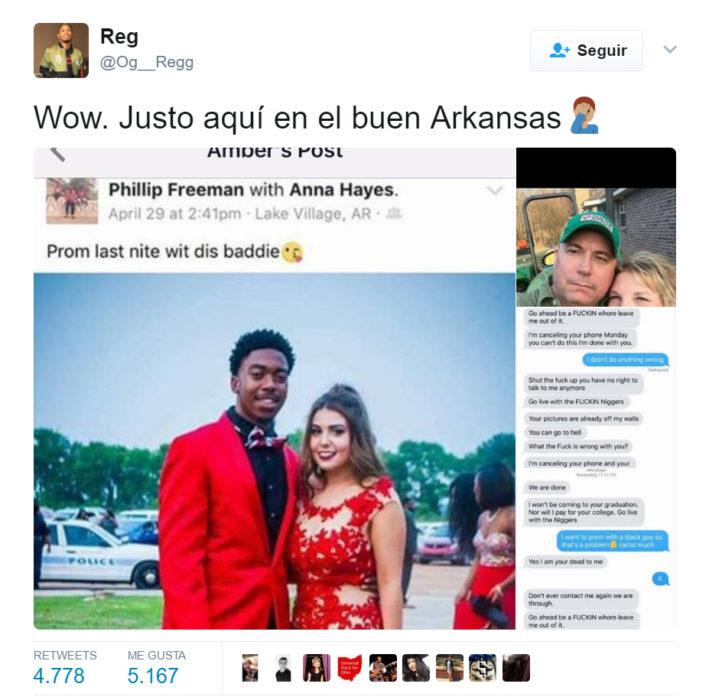 Comentarios sobre un padre racista