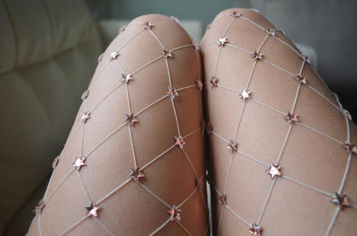medias de red con estrellas