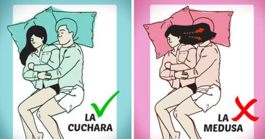 Estas son las mejores y peores posiciones para dormir en pareja