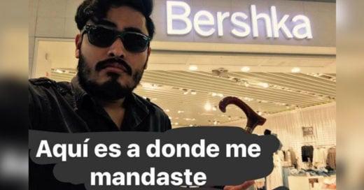 Después de ser rechazado, va al centro comercial y relata su graciosa historia de desamor en Snapchat