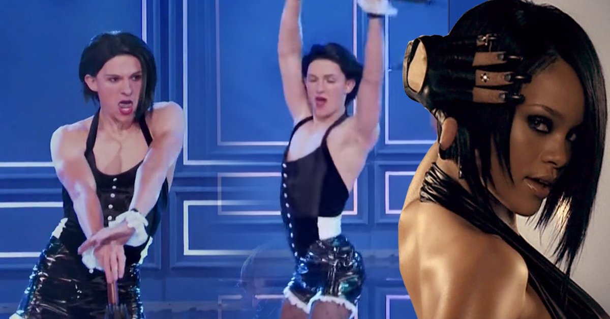 Tom Holland, el mejor Rihanna de 'Lip Sync Battle'