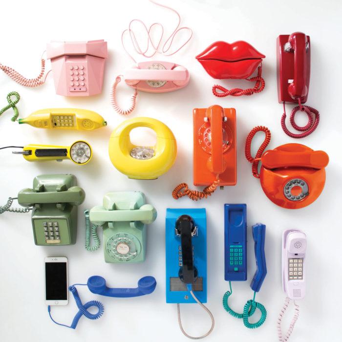telefonos ordenados por color