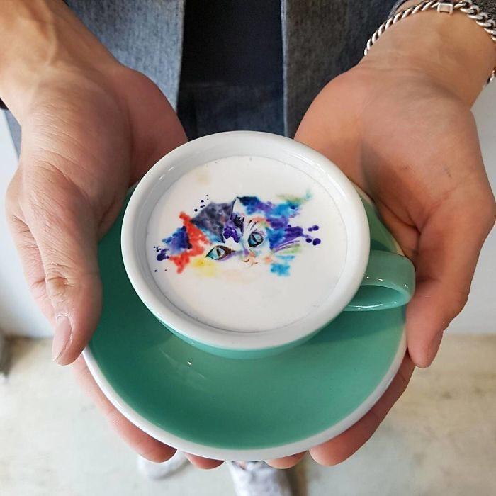 tazas de café obras de arte