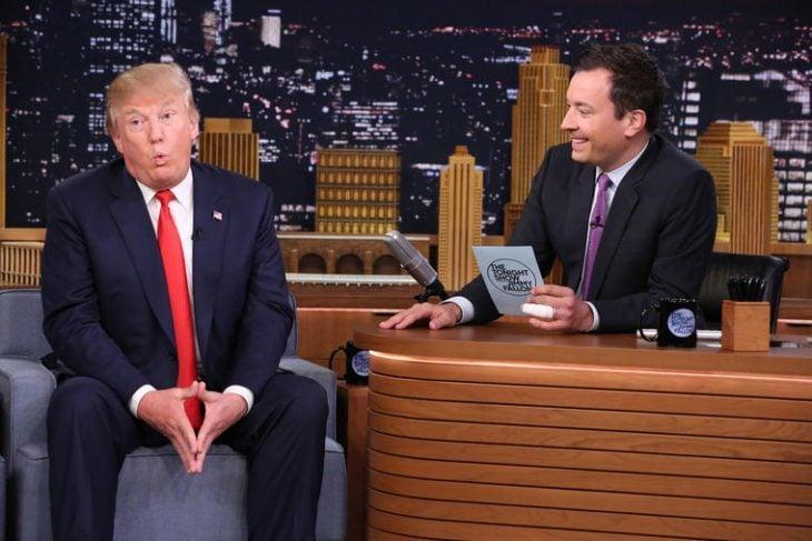 Jimmy Fallon y Donald Trump
