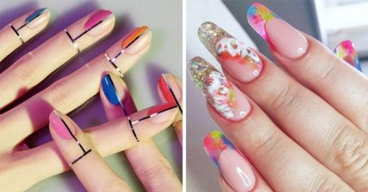 20 Diseños de transparencias para uñas que podrás usar para cualquier ocasión