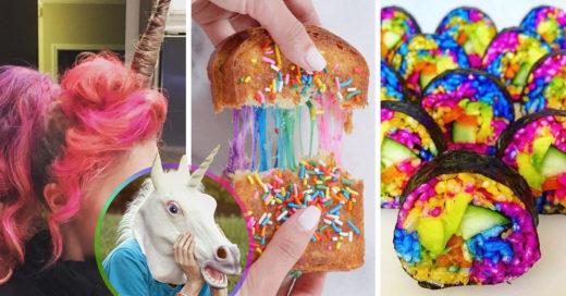 20 Ridículas pruebas de que la moda unicornio ya se salió de control