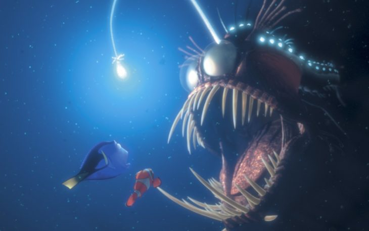 pez azul de Nemo villanos de Disney