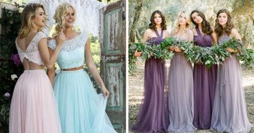 10 Increíbles vestidos vintage que tus damas de honor deberían de usar