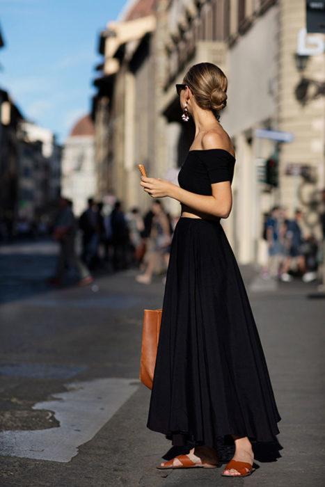 vestidos sin hombros 2