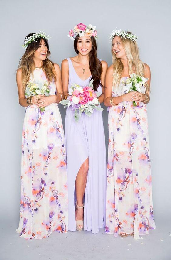 Vestidos para damas de honor vintage