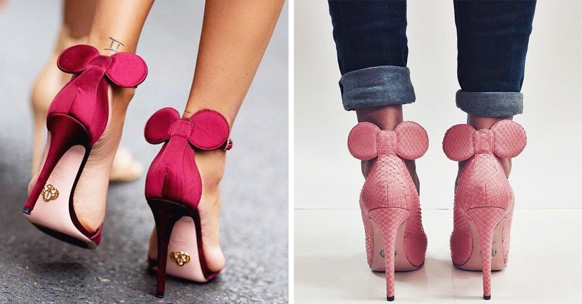 Los tacones de Minnie Mouse que querrás tener si eres fan de Disney