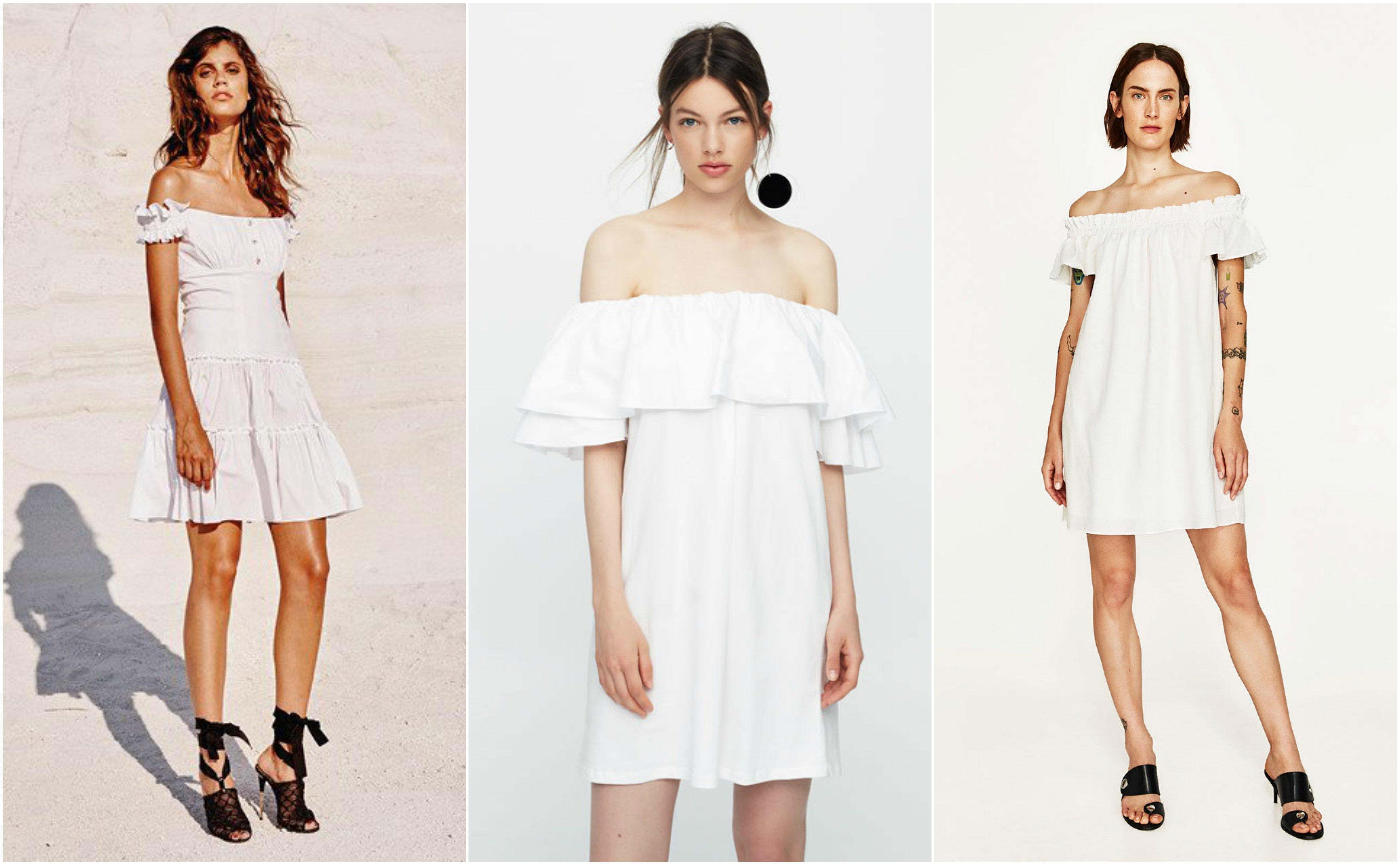 086ebc587 15 Increíbles vestiditos blancos para vivir este verano