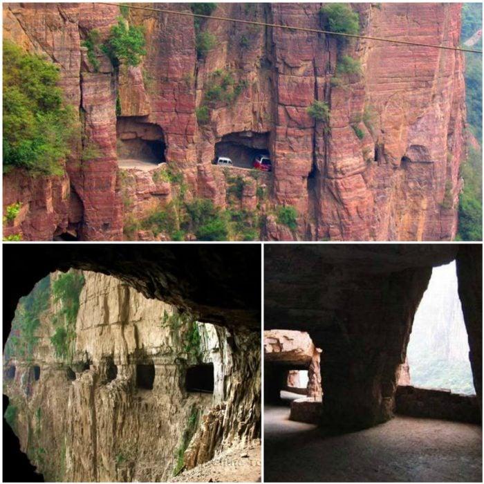 Túnel Guoliang China