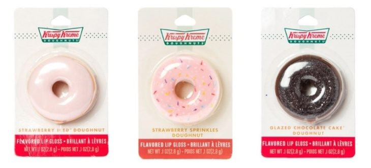 lip balm de krispy kream