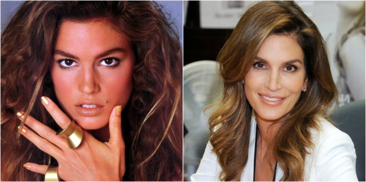Cindy Crawford antes despues