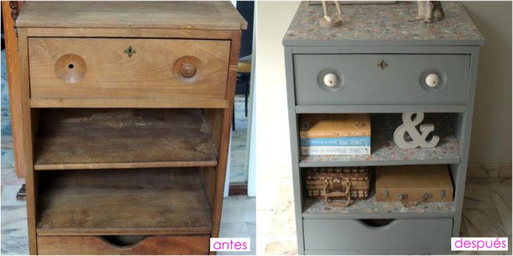 15 grandes ideas para renovar tus viejos muebles for Renovar muebles antiguos