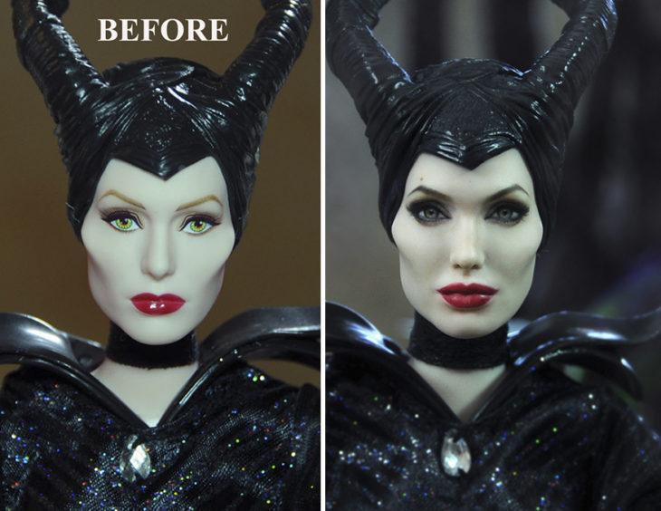 Angelina Jolie Malefica doll