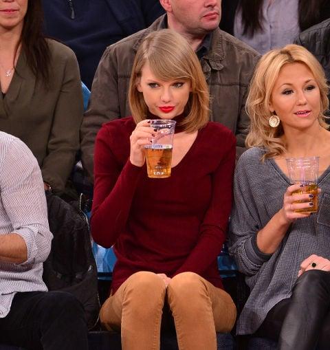 Taylor Swift aburrida