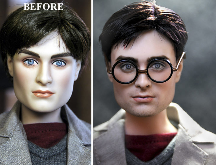 daniel radcliffe harry potter doll