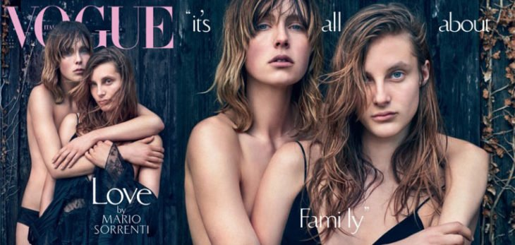 Edie Campbell y Olympia Campbell