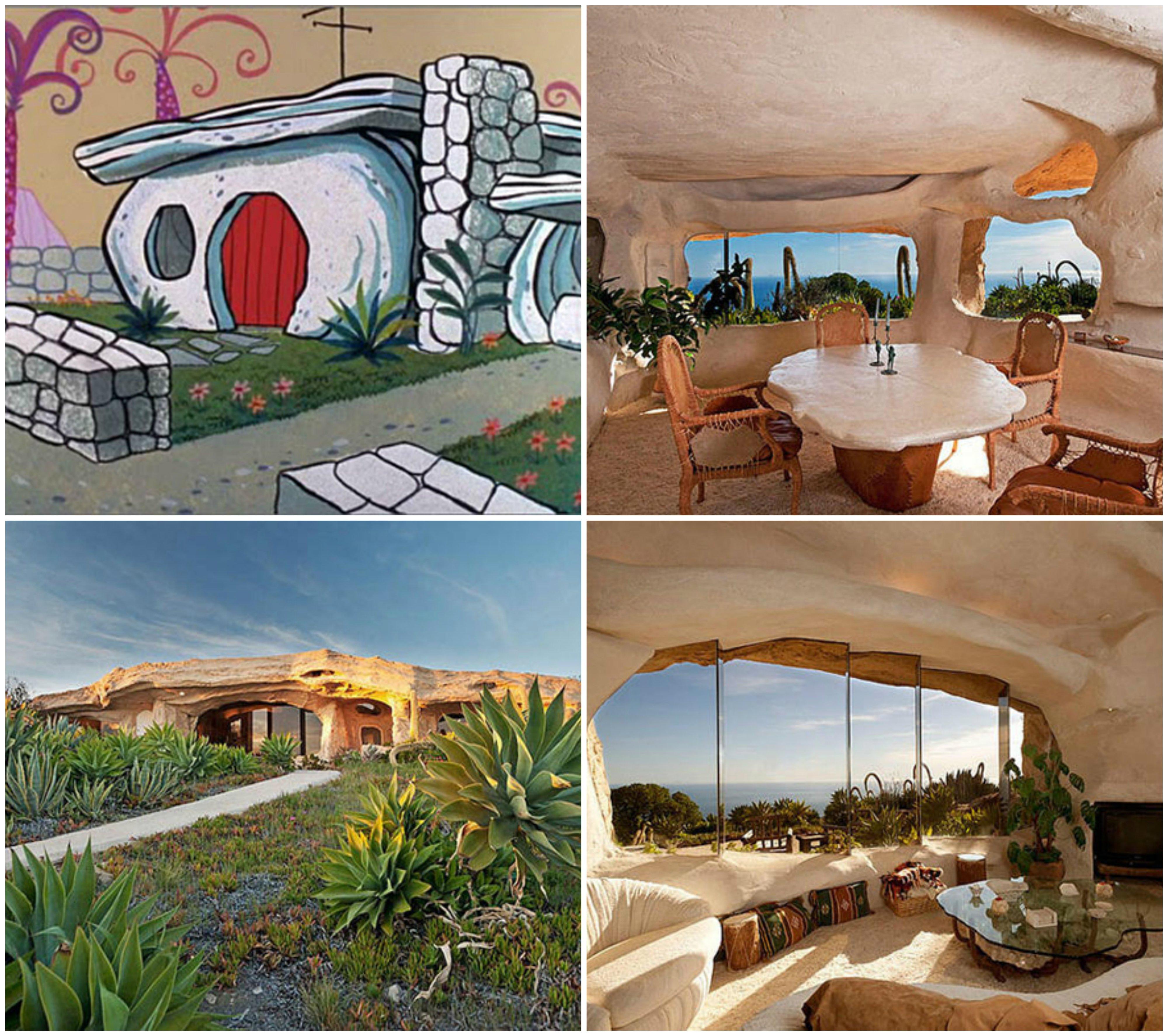 10 casas de caricaturas que existen en la vida real - Ambientadores naturales para la casa ...
