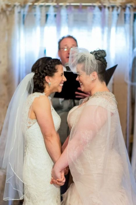 bodas lgbt pareja de mujeres