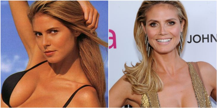 heidi klum antes despues