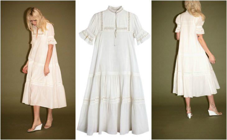 vestido victoriano