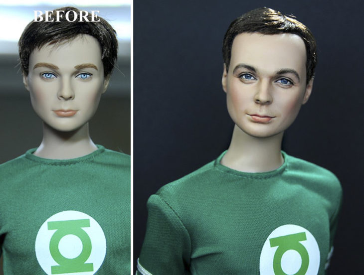 jim parsons sheldon cooper doll