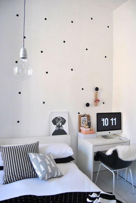 pared con puntos
