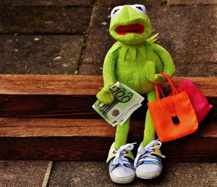 rana de compras