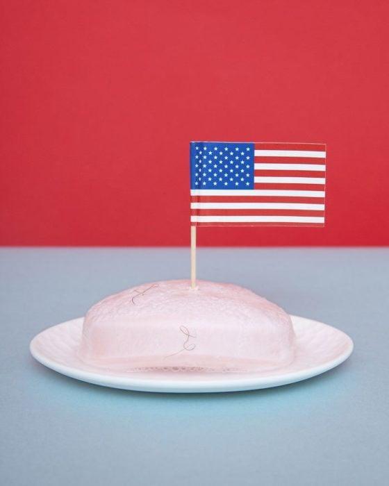 Nevada prohibido poner banderas en los jabones