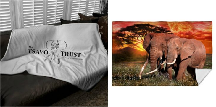 manta elefantes amor