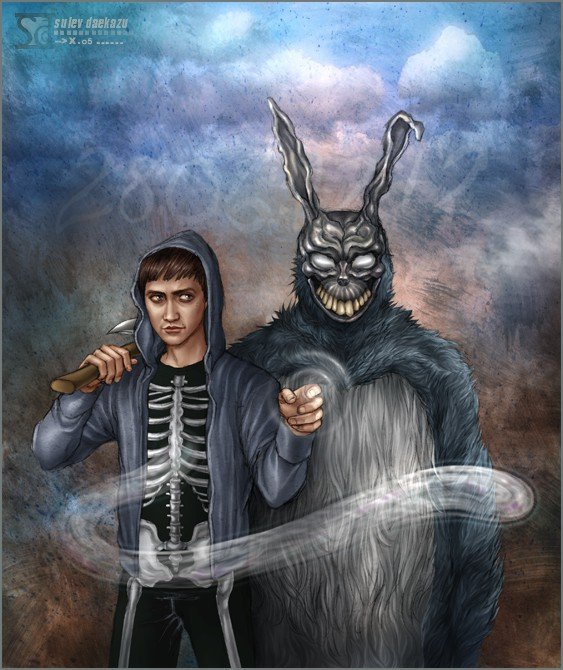 donnie darko y conejo