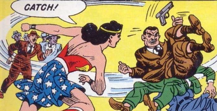 mujer maravilla comic años 40