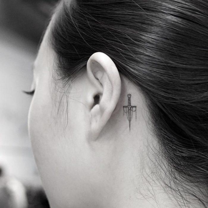 oreja tattoo